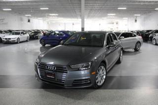 Used 2017 Audi A4 PROGRESSIV I NAVIGATION I BLIND SPOT I REAR CAM I CARPLAY for sale in Mississauga, ON