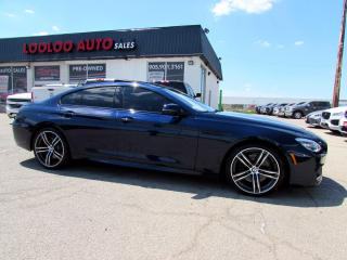 Used 2018 BMW 6 Series Gran Coupe 650i xDrive AWD 445 HP Twin Turbo M Sport Pkg Navi Certified for sale in Milton, ON