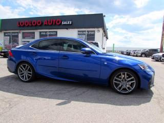 Used 2017 Lexus IS 350 AWD F-SPORT 3 NAVIGATION CAMERA CERTIFIED for sale in Milton, ON