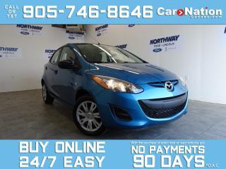 Used 2012 Mazda MAZDA2 POWER LOCKS & WINDOWS |ONLY 36 KM! |OPEN SUNDAYS! for sale in Brantford, ON