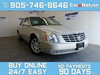 Used 2010 Cadillac DTS V8 | LEATHER | LOW KMS | RARE | MUST SEE! for sale in Brantford, ON