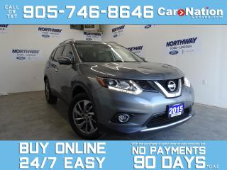 Used 2015 Nissan Rogue SL | AWD | PANO ROOF | NAV | LEATHER for sale in Brantford, ON