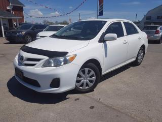 Used 2013 Toyota Corolla S **Cruise control and AC** for sale in Dunnville, ON