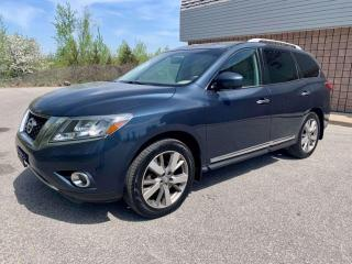 Used 2014 Nissan Pathfinder PLATINUM | 4WD | 7 PASS | NAVI | BLUETOOTH | for sale in Barrie, ON