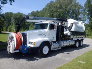 Used 1992 Freightliner FLD112 Vacuum Truck Air Brakes Diesel for sale in Burnaby, BC