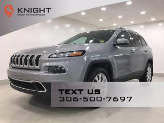 Used 2015 Jeep Cherokee Limited 4x4   Leather   Sunroof   Navigation   for sale in Regina, SK