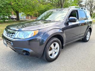 Used 2012 Subaru Forester 5dr Wgn Auto 2.5X   Extra Tires On Rims! for sale in Mississauga, ON