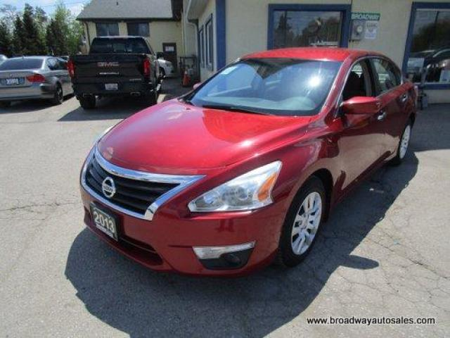 2013 Nissan Altima POWER EQUIPPED S-TYPE-MODEL 5 PASSENGER 2.5L - DOHC.. CD/AUX INPUT.. PURE-DRIVE-PACKAGE.. KEYLESS ENTRY.. PUSH-BUTTON-IGNITION..