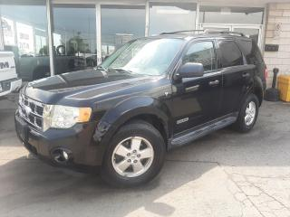 Used 2008 Ford Escape XLT ~Certified~ 3 YEAR WARRANTY~ for sale in Oakville, ON