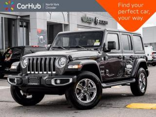 New 2021 Jeep Wrangler Unlimited Sahara 4x4 Navigation Alpine Sound Safety Grp for sale in Thornhill, ON