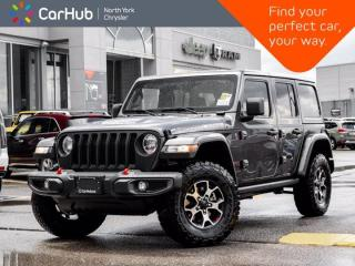 New 2021 Jeep Wrangler Unlimited Rubicon 4x4 Safety Group Leather ALPINE Navigation for sale in Thornhill, ON