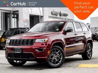 New 2021 Jeep Grand Cherokee 80th Anniversary Edition 4x4 Heated Seats Sunroof Navigation for sale in Thornhill, ON