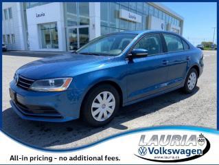 Used 2016 Volkswagen Jetta Sedan Trendline+ Auto - Carplay / Android Auto for sale in PORT HOPE, ON