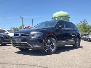 Used 2018 Volkswagen Tiguan Highline HIGHLINE LOADED for sale in Stittsville, ON