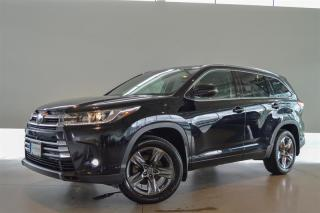 Used 2019 Toyota Highlander LIMITED AWD for sale in Langley City, BC