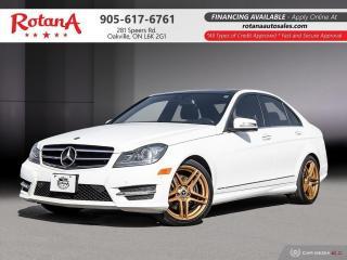 Used 2014 Mercedes-Benz C-Class C 350|Navi|B/U Cam|Blind Spot Sensor|Pano Roof for sale in Oakville, ON