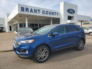 New 2021 Ford Edge Titanium for sale in Brantford, ON
