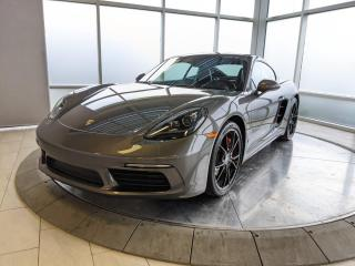 Used 2018 Porsche 718 Cayman S | CPO | Ext. Warranty | Premium Plus | Sport Exhaust | No Accidents for sale in Edmonton, AB