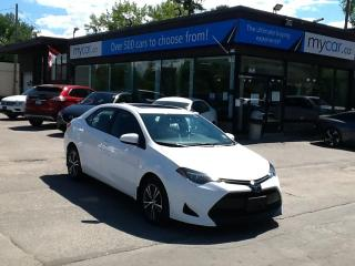 Used 2019 Toyota Corolla LE SUNROOF, HEATED SEATS, BACKUP CAM, BLUETOOTH!! for sale in Richmond, ON