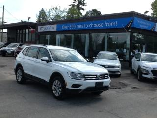 Used 2020 Volkswagen Tiguan Trendline ALLOYS, TOUCHSCREEN, HEATED SEATS, APPLE CARPLAY!! for sale in North Bay, ON