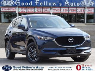 Used 2017 Mazda CX-5 GS SKYACTIV, AWD, REARVIEW CAMERA, LEATHER & CLOTH for sale in Toronto, ON