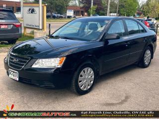 Used 2010 Hyundai Sonata GL LOW KM NO ACCIDENT HEATED SEATS CERTIFIED for sale in Oakville, ON