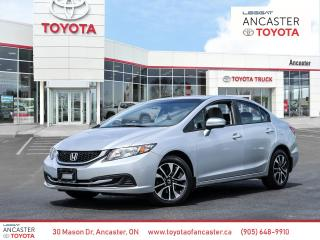 Used 2015 Honda Civic EX for sale in Ancaster, ON