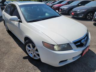 Used 2005 Acura TSX 6SPEED/LEATHER/ROOF/LOADED/P.SEAT/ALLOYS for sale in Scarborough, ON