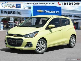 Used 2017 Chevrolet Spark 1LT CVT for sale in Brockville, ON