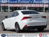 2017 Lexus IS F SPORT1, WHITE ON RED LEATHER, SUNROOF, LDW, PCS