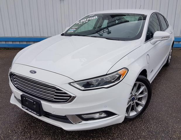2017 Ford Fusion Energi *LEATHER-NAVIGATION*
