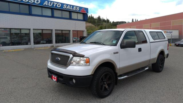 2008 Ford F-150 Lariat - Extended Cab, 4x4, 5.L V8, 6ft 6in Box