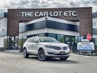 Used 2016 Lincoln MKX Reserve LEATHER!! PARK ASSIST!! FRONT VIEW CAMERA!! SUNROOF!! POWER LIFTGATE!! for sale in Sudbury, ON