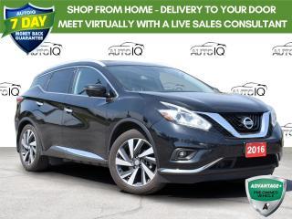 Used 2016 Nissan Murano Platinum Local Trade . Loaded for sale in Tillsonburg, ON