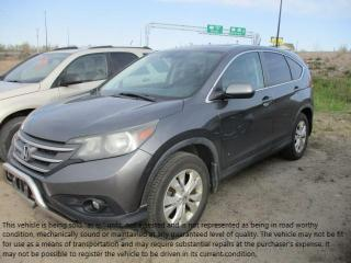 Used 2012 Honda CR-V EX-L for sale in North Bay, ON
