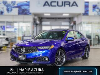 Used 2019 Acura TLX Tech A-Spec One owner, No accidents for sale in Maple, ON