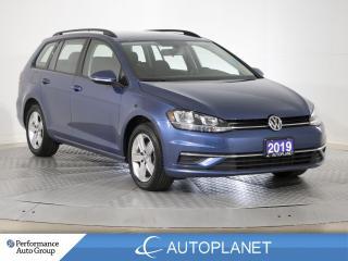 Used 2019 Volkswagen Golf Sportwagen Comfortline AWD, Back Up Cam, Apple CarPlay! for sale in Clarington, ON