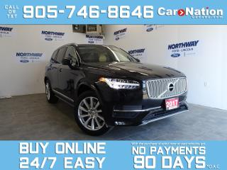 Used 2017 Volvo XC90 T6 | INSCRIPTION | AWD | PANO ROOF | NAV | LEATHER for sale in Brantford, ON