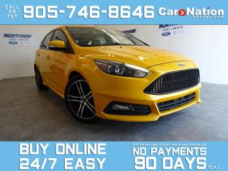 Used 2016 Ford Focus ST | TECH PKG | LEATHER | NAV | SUNROOF | RARE! for sale in Brantford, ON