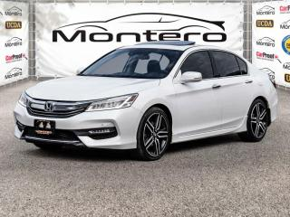 Used 2017 Honda Accord Sedan TOURING V6 NAV,LEATHER,SUNROOF,BACKUP CAM LOADED for sale in North York, ON
