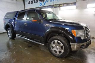 Used 2010 Ford F-150 V8 XTR 4X4 SUPER CREW CERTIFIED 2YR WARRANTY *1 OWNER*FREE ACCIDENT* BLUETOOTH ALLOYS RUNNING BOARDS for sale in Milton, ON