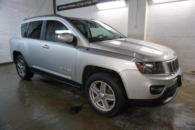 2014 Jeep Compass 4WD NORTH CERTIFIED 2YR WARRANTY LEATHER BLUETOOTH CRUISE ALLOYS AUX