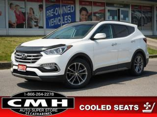 Used 2017 Hyundai Santa Fe Sport Limited  NAV CAM ROOF LEATH 19-AL for sale in St. Catharines, ON