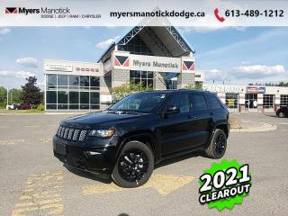 New 2021 Jeep Grand Cherokee Altitude  - Navigation - $319 B/W for sale in Ottawa, ON