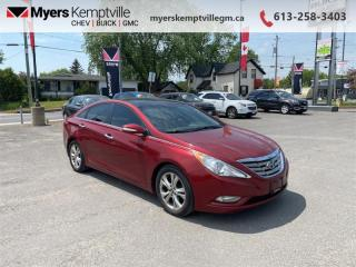 Used 2012 Hyundai Sonata LIMITED for sale in Kemptville, ON