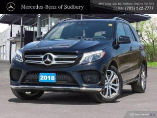 Used 2018 Mercedes-Benz GLE 400 - STAR CERTIFIED ! for sale in Sudbury, ON