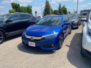 Used 2017 Honda Civic Sedan Touring for sale in Waterloo, ON