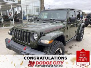 New 2021 Jeep Wrangler Unlimited Rubicon-4WD,Nav,Remote Start, Htd Seats for sale in Saskatoon, SK