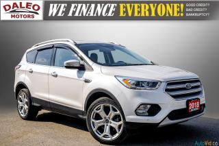 Used 2018 Ford Escape TITANIUM / WITH PREMIUMCARE PROTECTION PLAN for sale in Hamilton, ON