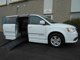 Used 2016 Dodge Grand Caravan Crew-Wheelchair Accessible Side Entry Power for sale in London, ON